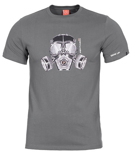 PENTAGON T-SHIRT GAS-MASK