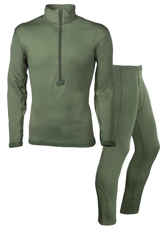 Согревающее термобелье Helikon-Tex Level 2 – Underwear Set цвет олива