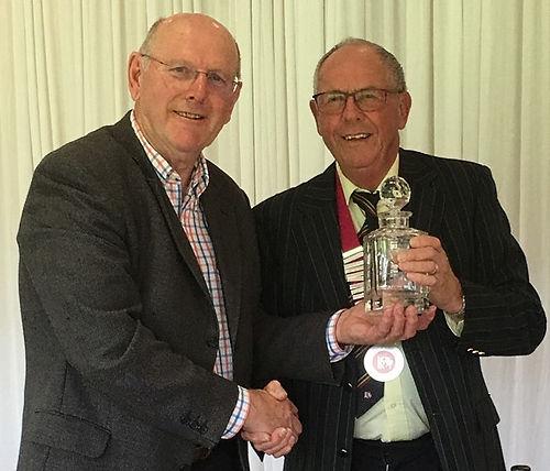 Winner of reps meeting May 2019 Brian Ra