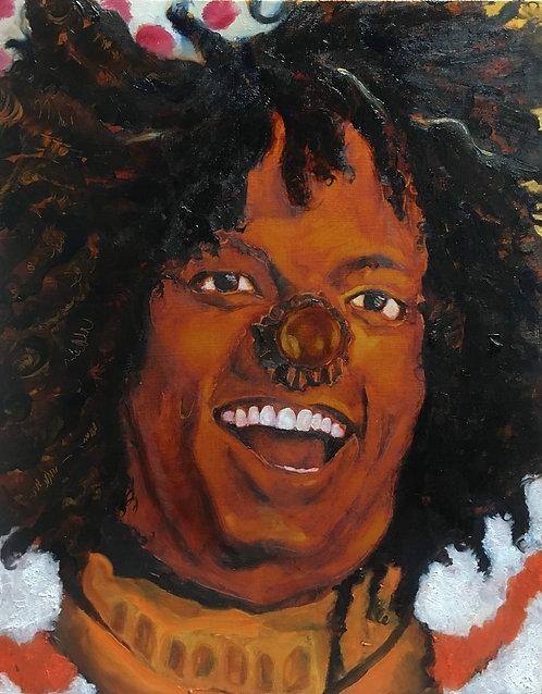 The Wiz - Scarecrow - Michael Jackson Original Painting