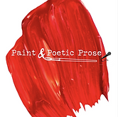 Paint and Poetic Prose  Red Paint Image