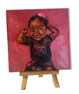 MINI painting of a mini person