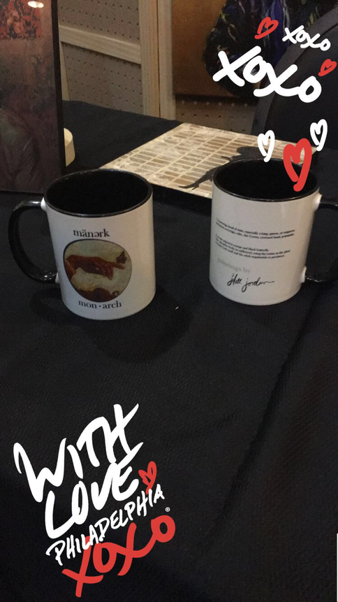 Philly Fun & New Monarch Mugs