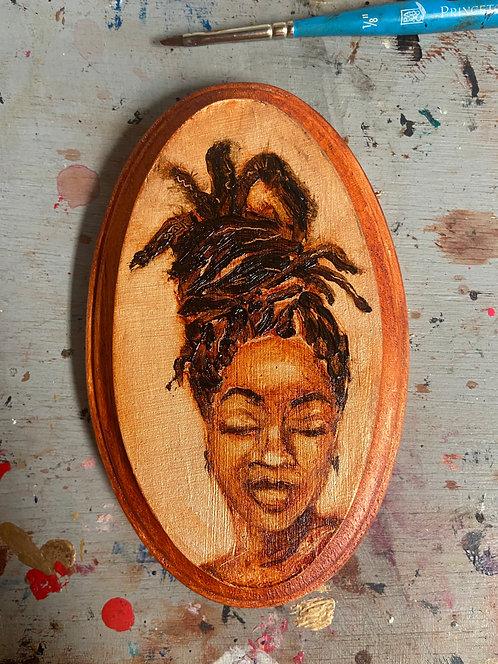 MINI profile #5 - Wooden Plaque