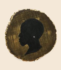 silhouette profile #1 [Sold]