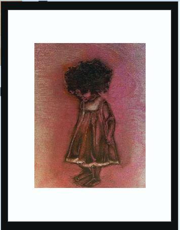 "Babyhair 8x10"" Framed  Prints"