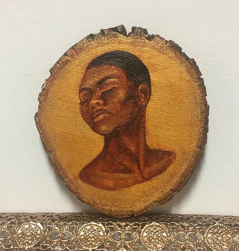 MINI profile #2- on natural wood