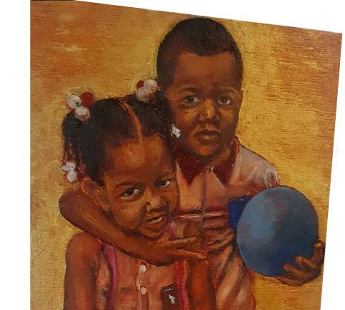 MINI Painting of Mini people