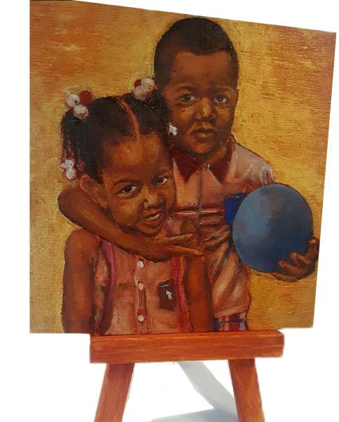 MINI LJ Babies on Easel Art.jpg