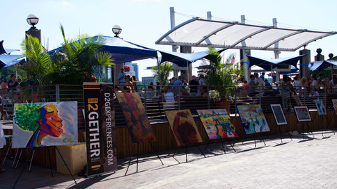 Drawn2Gether: Georgetown Harbour's AntiGallery