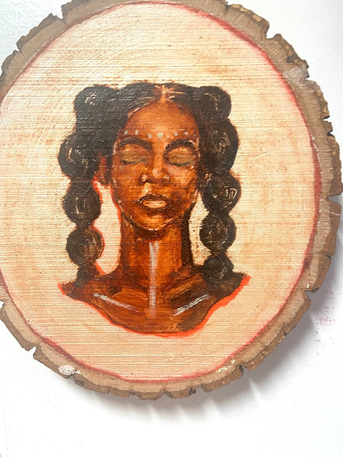 MINI profile #3- on natural wood