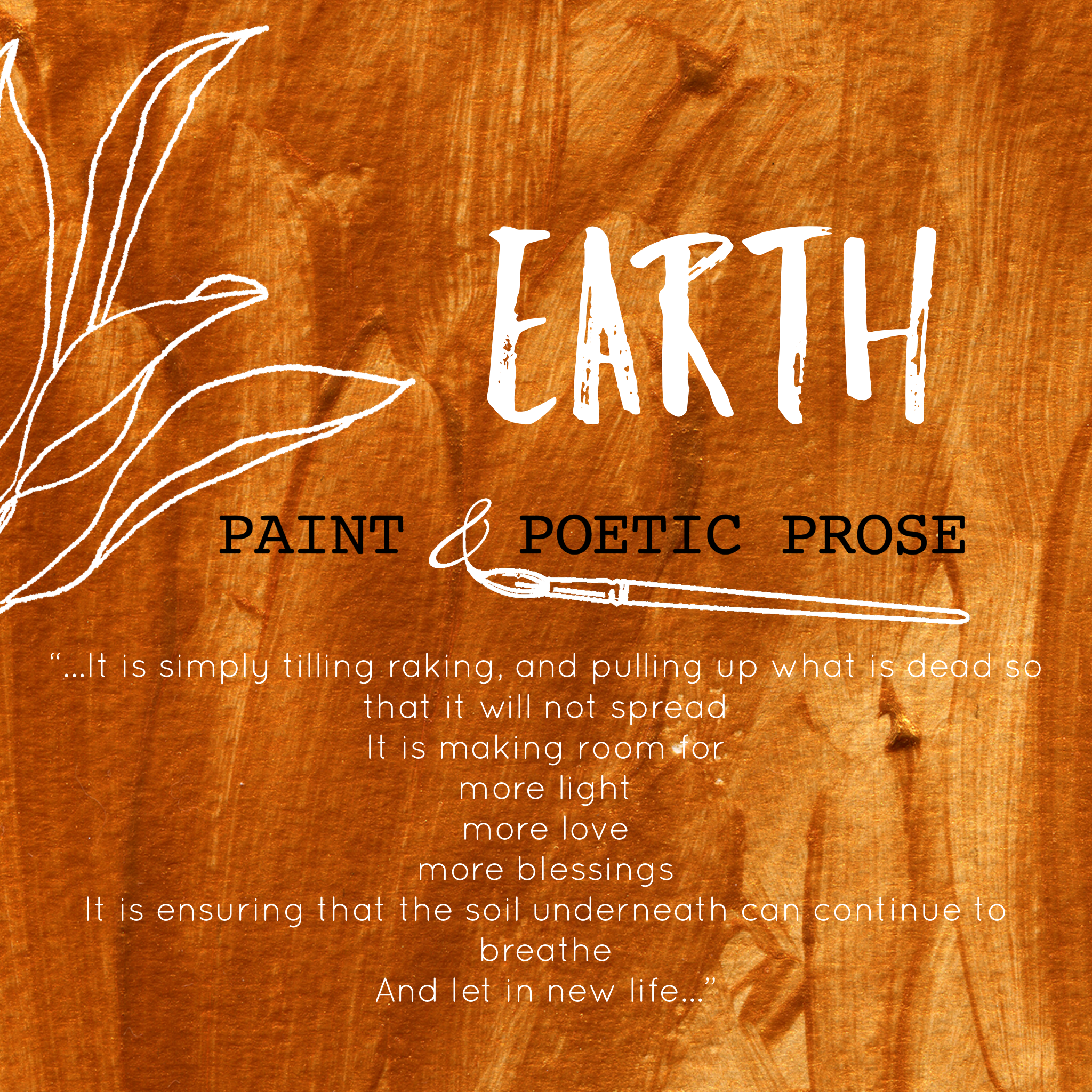 Paint & Prose - Earth