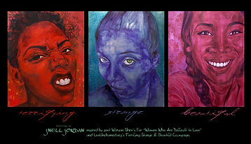 Poster or Triptych Paintings - Terr