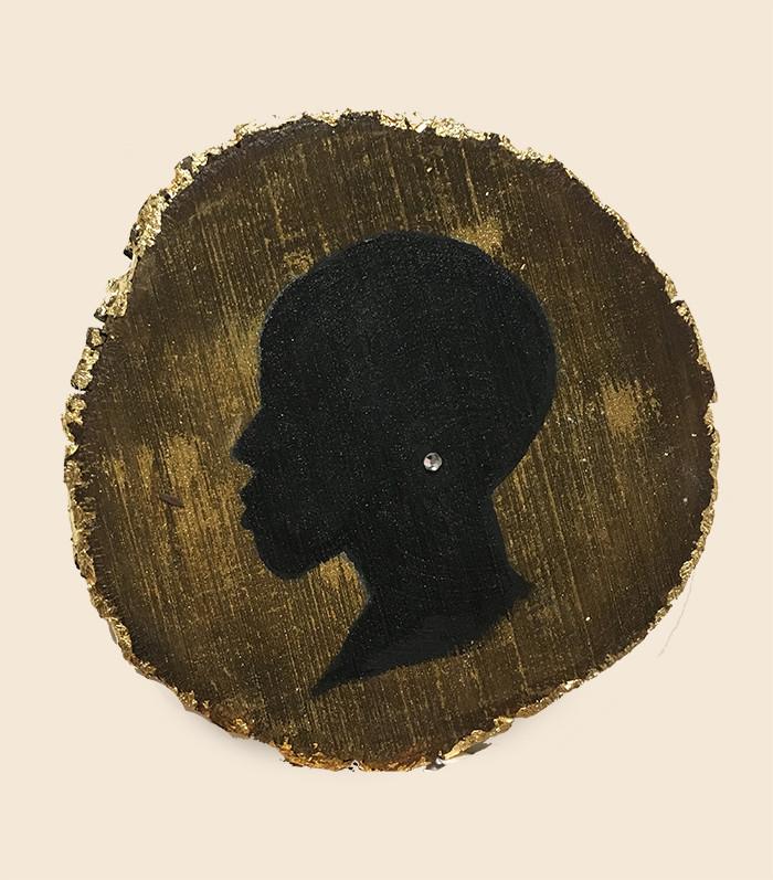 Silhouette profile #1.