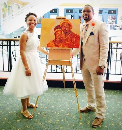 Wedding Bells & Wedding Paint!