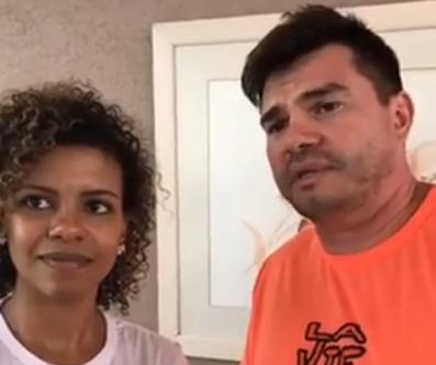 Nivea Soares e Alexandre Canhoni