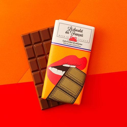 Milchschokolade  mit Haselnüssen La Bouche
