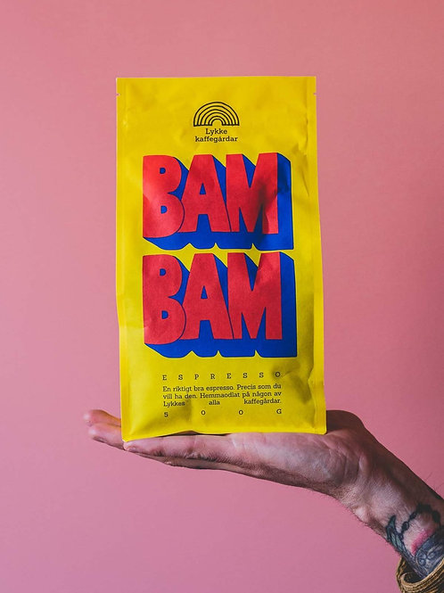Bam Bam 500g Wholebean