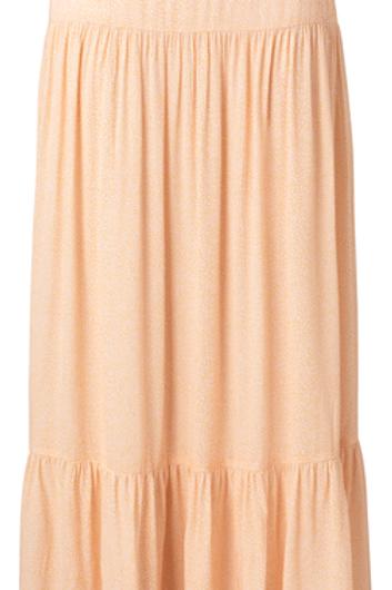 Viscose printed maxi skirt