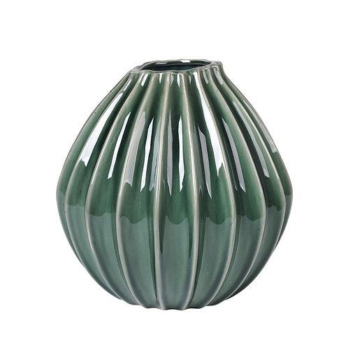 Vase Wide grün