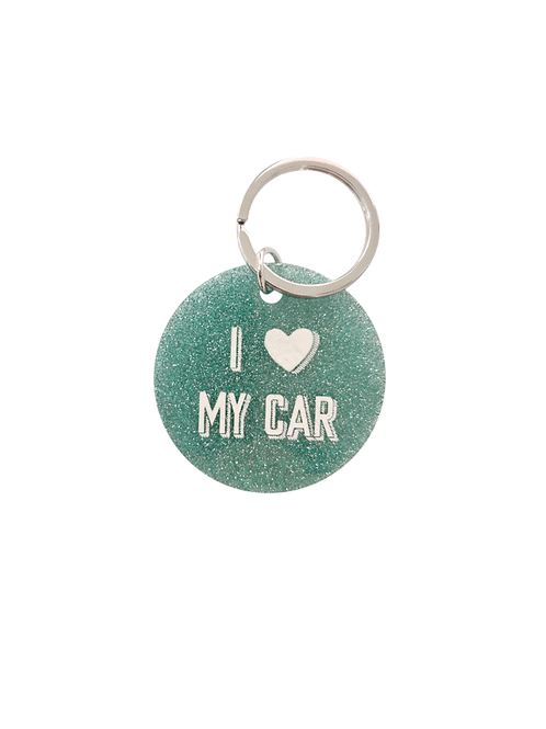 Schlüsselanhänger I Love My Car