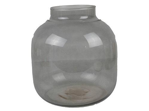Vase Mani rauchgrau