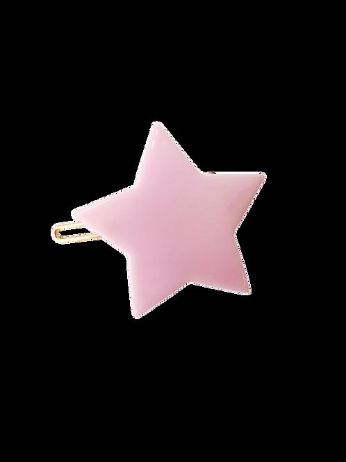 Haarspange Star blush