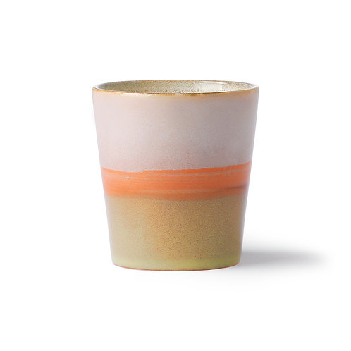 Keramikbecher  70's Saturn