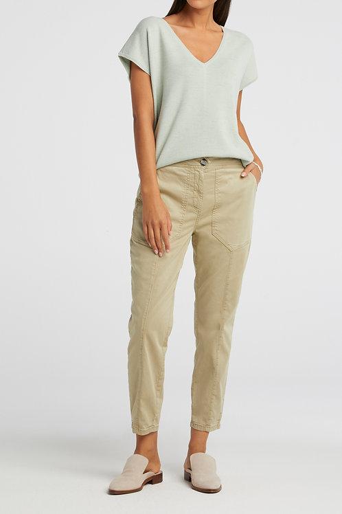 High waist worker trousers