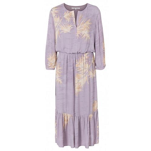 Printed romantic dress