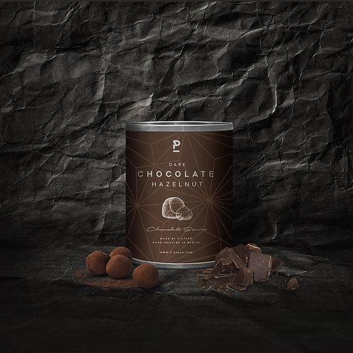 Haselnuss – Dunkle Schokolade mit Kakao – Mini 60g