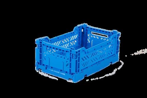 Faltkiste mini electric blue