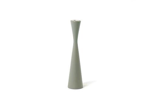 Kerzenständer Sandglass 25 cm  grey