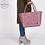 Thumbnail: Shopper Paris rustic pink