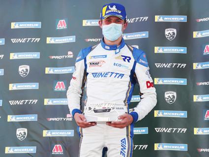 Rookie podium for Richardson Racing on tough Snetterton weekend