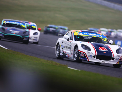 Triple rookie podium for Richardson Racing at Brands Hatch