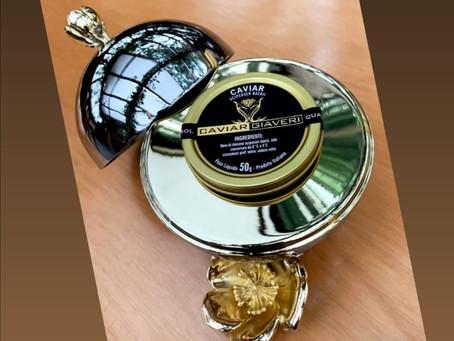 Caviar serving set Flore