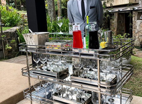 Exceptional Bartender Trolley