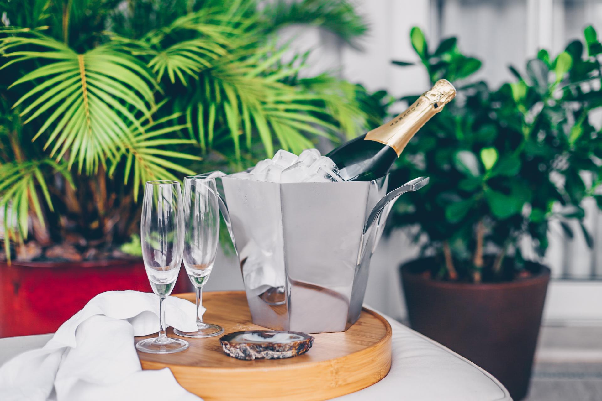 Champagne bucket Megève