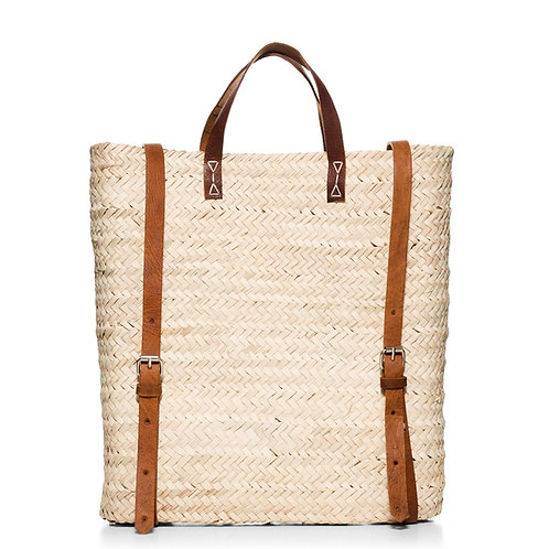 """Ψάθινη τσάντα """" Backpack, Traveler's"""""""