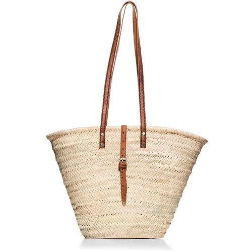 """Ψάθινη τσάντα """"Shopping"""""""