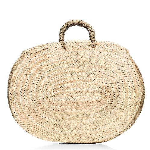 """Ψάθινη τσάντα """"Oval"""""""