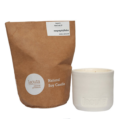 """""""Bittersweet almond"""" soy candle"""