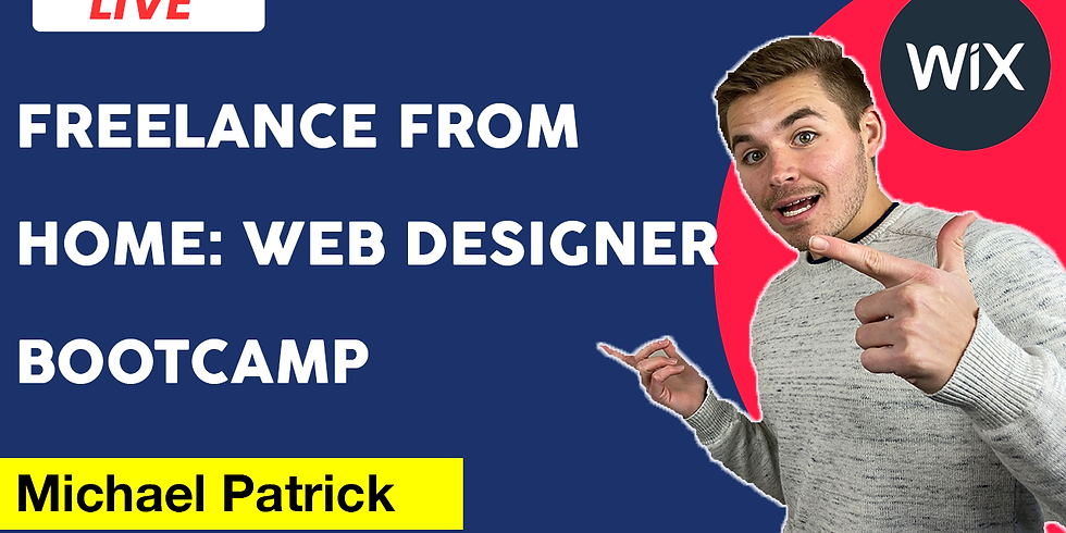 Freelance From Home: Web Designer Bootcamp
