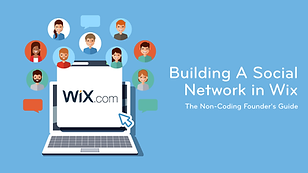 Building A Social Network in Wix - Serie