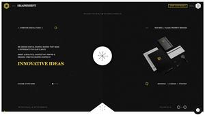 Wix Inspiration   Shapeshift Design Studio