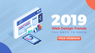 Web Design Trends - 2019 Free Webinar.pn