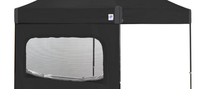 Recreational 10' Sidewalls With Mesh Window - Straight Leg