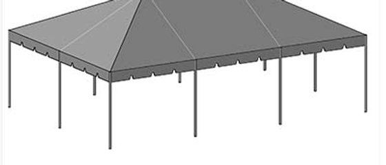 20' x 30' Tent Top - White