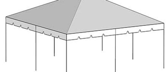 20' x 20' Tent Top - White